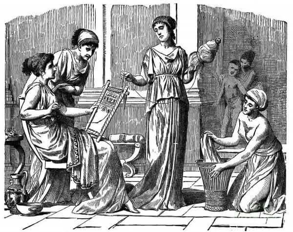 Kvinnorna i antikens Grekland hade inte samma rättigheter som kvinnorna i forntida Egypten
