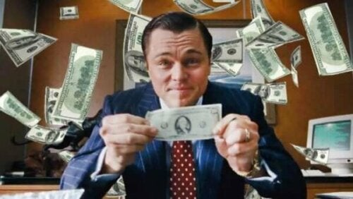 Filmen The Wolf of Wall Street: ambition och makt