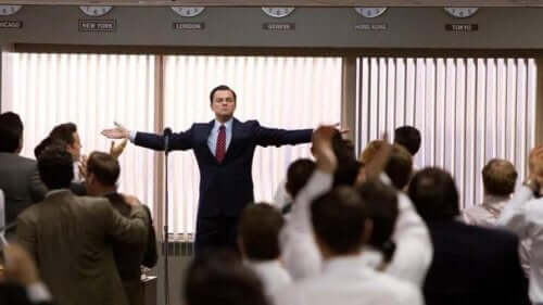 Leonardo Di Caprio i The Wolf of Wall Street
