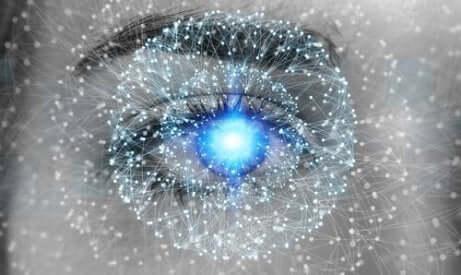 Ett öga med tydlig syn