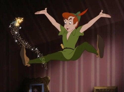Berättelsen om Peter Pan, pojken som inte ville växa upp