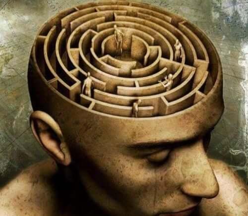 En labyrint där hjärnan ska vara
