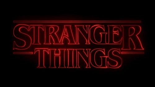 Logotyp för Stranger Things