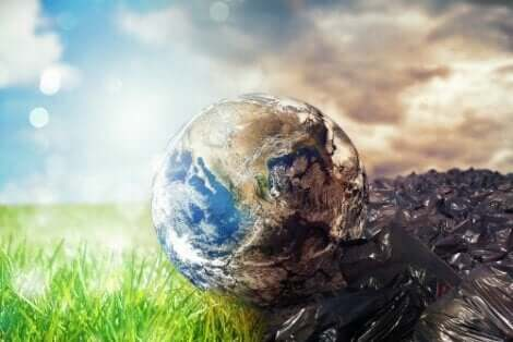 En skräpfylld värld