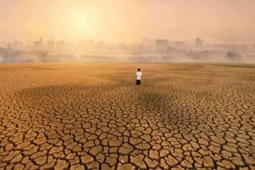 Att lida av klimatångest - en konsekvens av klimatförändringar