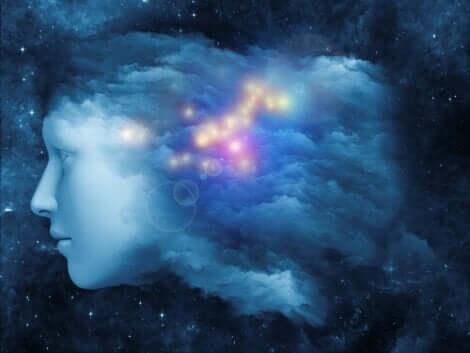 En illustration av det universella medvetandet