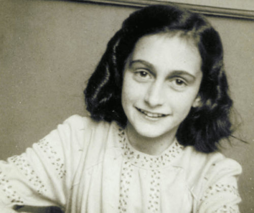 Den judiska flickan Anne Frank: en berättelse om sann viljestyrka