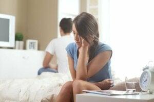 Utmaningarna med ett ängsligt, undvikande förhållande