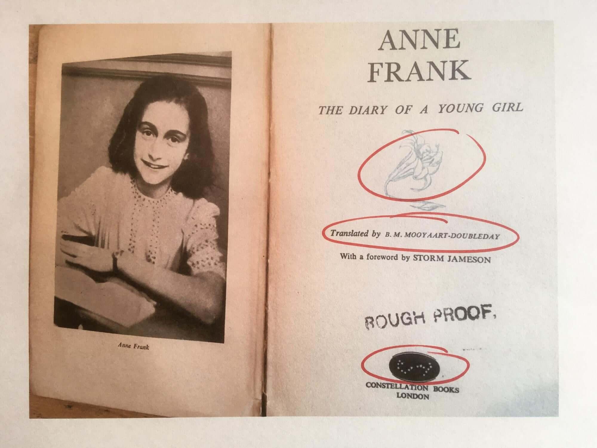 Anne Franks dagbok är en av de mest lästa böckerna i världen