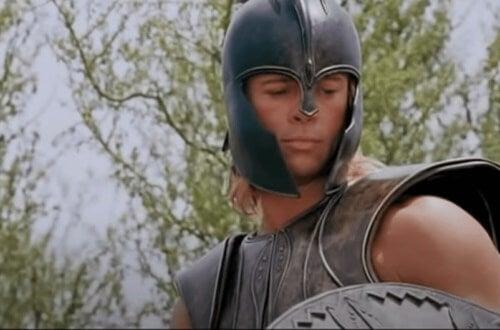Brad Pitt som Akilles