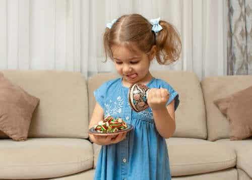 Fruit Snack Challenge - testet som mäter självkontroll hos barn