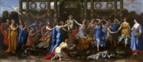 Myten om Hymen, den grekiska guden för äktenskapet