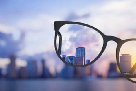 Vy genom glasögon