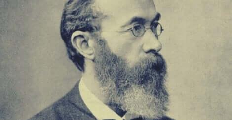 En bild av Wilhelm Wundt i profil
