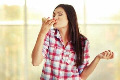 Studier visar att människor har fem olika aptiter