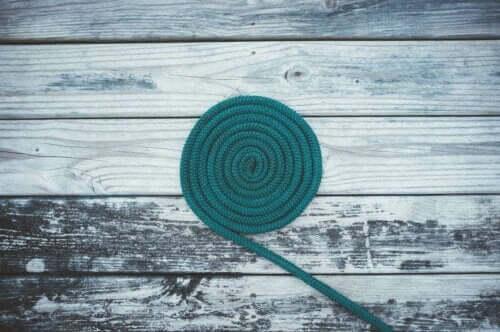 Ett långt rep