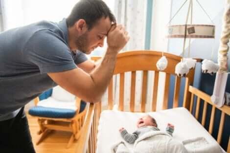 Även nyblivna pappor kan drabbas av postpartumdepression