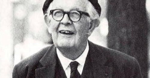 En bild av Jean Piaget
