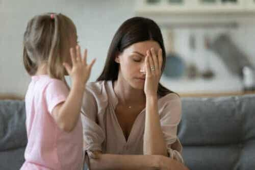 Jag tål inte när mitt barn får raseriutbrott