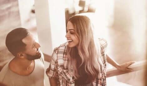 Ett lyckligt par