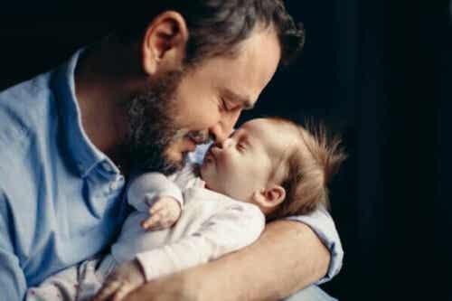 Att bli pappa kan leda till hormonella förändringar