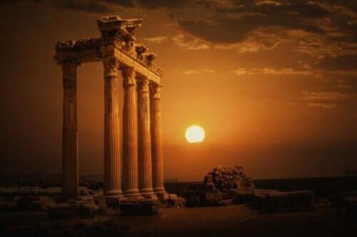Templet för myten om Apollon