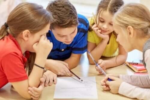 Barn i klassen