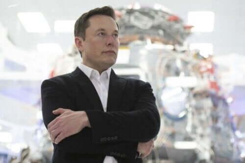 Ett porträtt av Elon Musk