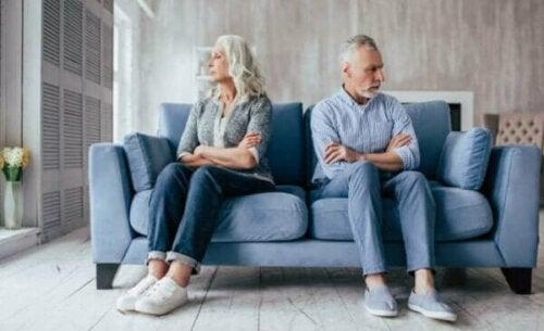 Att uppleva sina föräldrars skilsmässa som vuxen