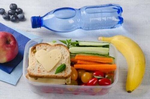 En hälsosam lunch