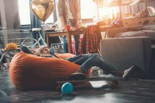 Är tonårens stökiga sovrum verkligen ett förlorat slagfält?