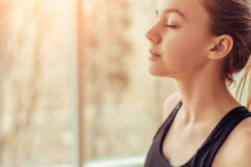 En känslomässig kontroll över ångest