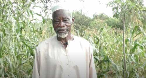 Jordbrukaren Yacouba Sawadogo, mannen som besegrade Sahara