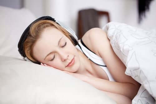 Vitt brus kan hjälpa dig att sova bättre