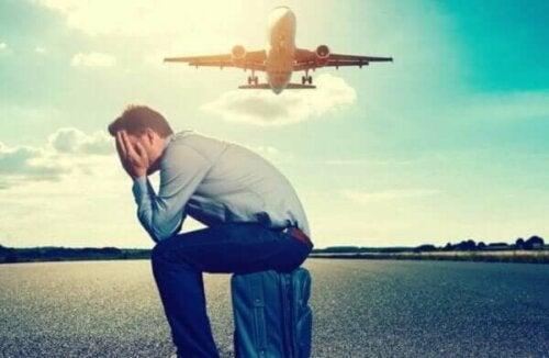 Hodofobi: den irrationella rädslan för att resa