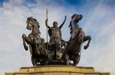 Läs om Boudiccas historia - den upproriska drottningen