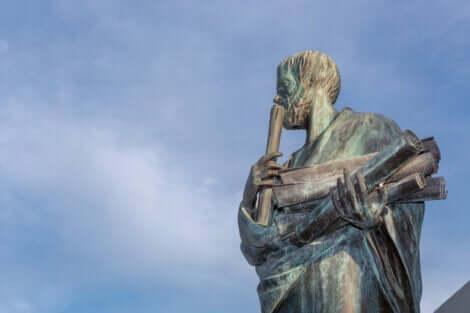 Aristoteles var en viktig förgrundsfigur inom psykologin