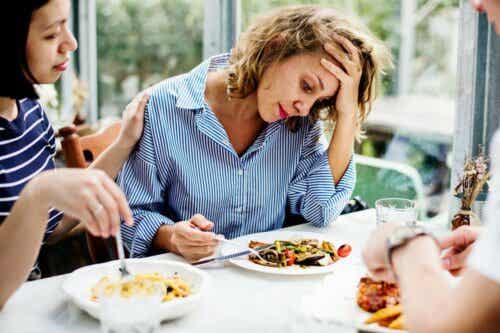 Man kan drabbas av aptitlöshet under stressiga perioder