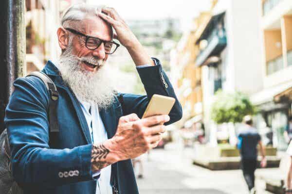 Äldre ynglingar har ofta lärt sig bemästra den nya tekniken