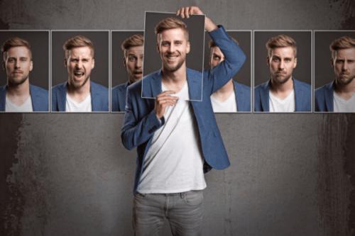 Illustrerar definitionen av personlighet